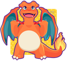 006 Charizard by Miss-Glitter