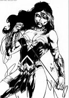 Wonder Woman-Blackest Night by PsychedelicHeroin