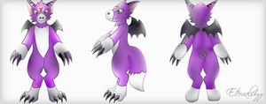 Dorumon Digimon Fursuit Reference V. 2 by Eternalskyy