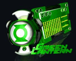 Green Lantern by DaRkFuSsIoOn