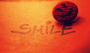 Smile button by MoonlessNightGirl