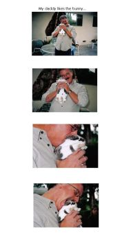 My daddy likes the bunny... by limewine