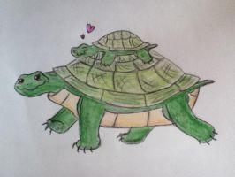 70 Animals Challenge - Turtle by Carlye