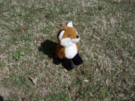 Mah Fox Plushie by Gradendine