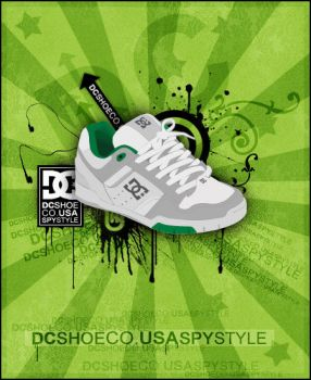 DC Shoe Co. USA by spystyle