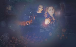 Emily Osment Wallpaper by textureclad