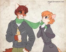 The scarf by Zengel