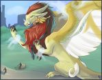 A Dragon In Central Park (FAX) by Ulario