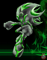 CM: Cyberus the Cybernetic Organism by shadowhatesomochao