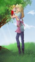 Awaited - Winry and Danielle by An-Haruno-Girl