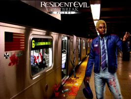 Jim Resident Evil File 3 by caorr