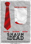 You've got red on you... | Shaun of the Dead by joreira