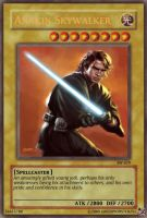 Anakin Yugioh Card by Greenmonster251
