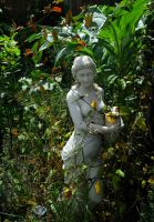 Lady Of The Garden by Forestina-Fotos