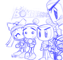 Bomberman B-Daman. by Invader-Kai