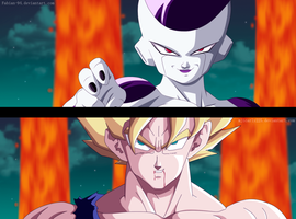 Goku VS Freezer [COLLAB] by FabianSM
