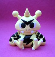 Electabuzz Pokedoll Sculpture by caffwin