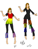 Rainbow Designs by Kaie13