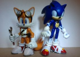 Sonic and Tails (Sonic Boom) by ArtKing3000