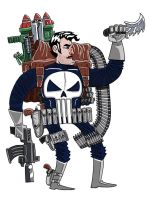 Punisher by ehudsbloodysword