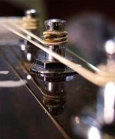 Guitar detail by photogrifos