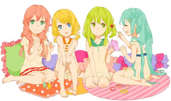 Vocaloid Kawaii - Render by Rinny-chan26