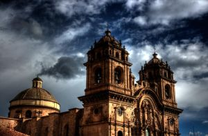 HDR Church in Cuzco - Peru by Tenbult