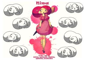 Nima character sheet 1 by LittleRedMinet