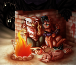 Short Campfire by InuHoshi-to-DarkPen