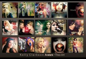 Kelly Clarkson... avatars by Thez-Art