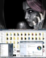 My Windows 7 Desktop by ZaLiTHkA