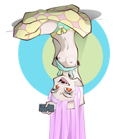 Upside down Vecula by The-Pink-Pirate