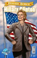 Hillary Clinton third printing by VinRoc