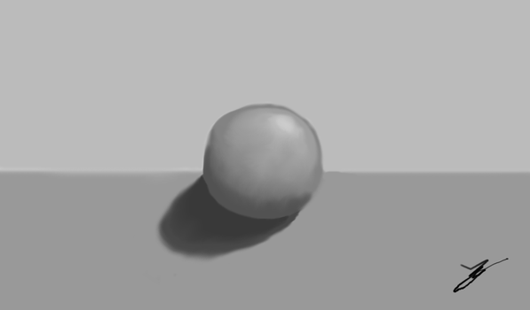 Grey Ball by figro670