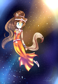 -.Dancing in the Space.- by SalotheKitty