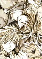 KH2: Sora-Roxas: ANIMA MUNDI by Kingdom-Hearts-Yaoi
