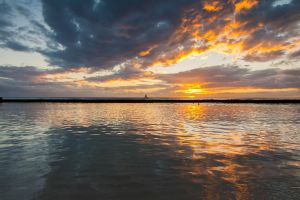 Hawaii Sunset Stock Low Angle by leeorr-stock