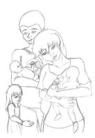 Their Little Family by I-Major-In-Magick