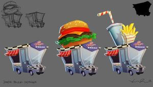 Diner Truck by KIRKparrish