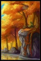 autumn land by EurukaTT
