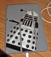 Dalek iPad Cover by FallenOther