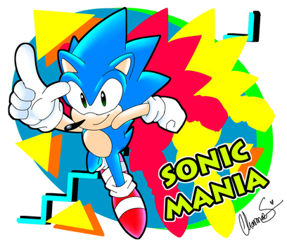 GET READY FOR SONIC MANIA! by Shinkumancer
