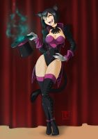 Commission: Magic with Kittie Paige by Blunt-Katana