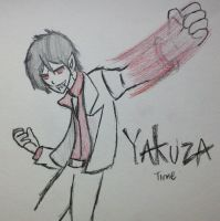Yakuza Time - Marshall Lee as Kazuma Kiryu by Fil101