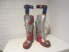 Completed Boots 1 by Galactic-Reptile