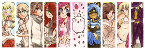 Bookmarks #3 by Keed-Kat
