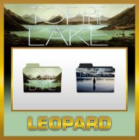 Leopard Top of the Lake Folders by TMacAG