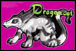 Dragoncat Chibi Badge 2011 by AirRaiser