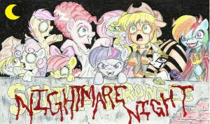 Seattle Bronies (Nighmare Night) banner by joelashimself