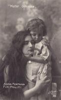 Vintage mother and child. 002 by MementoMori-stock